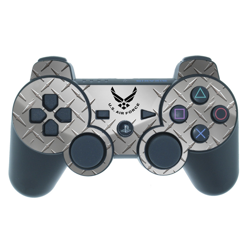USAF Diamond Plate PS3 Controller Skin