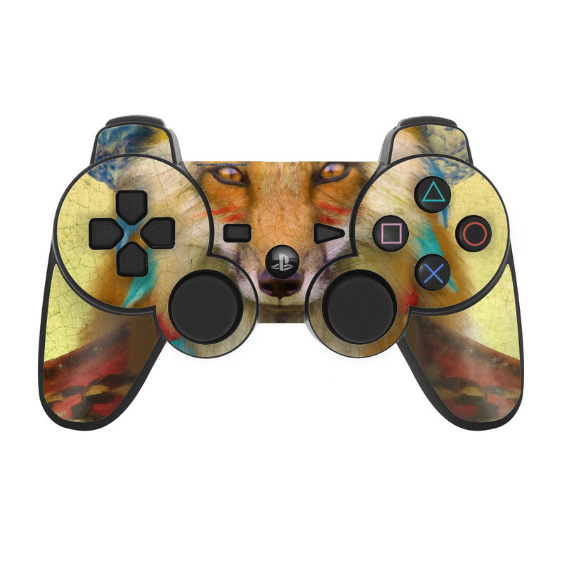 Wise Fox PS3 Controller Skin