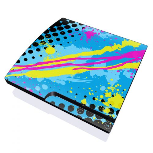 Acid PlayStation 3 Slim Skin