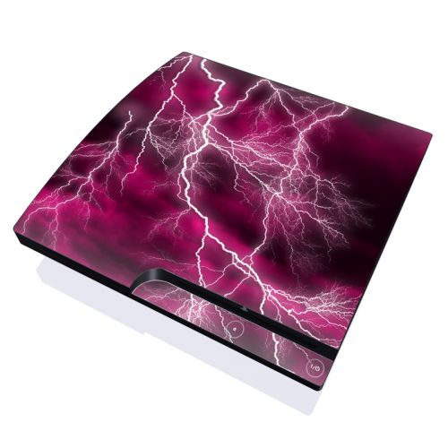 Apocalypse Pink PlayStation 3 Slim Skin