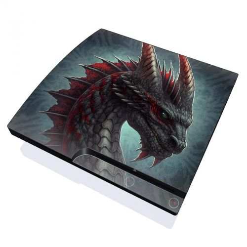 Black Dragon PlayStation 3 Slim Skin