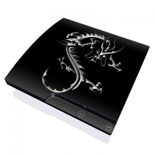 Chrome Dragon PlayStation 3 Slim Skin