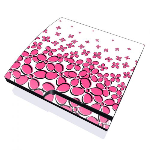 Pink PlayStation 3 Slim Skin