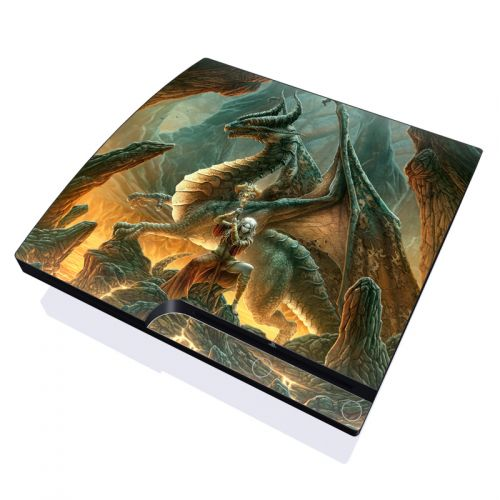 Dragon Mage PlayStation 3 Slim Skin