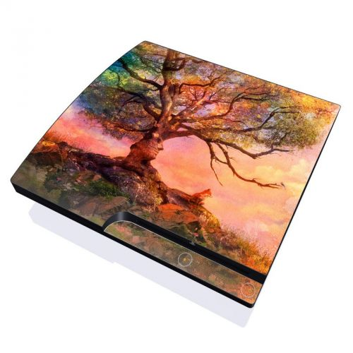 Fox Sunset PlayStation 3 Slim Skin