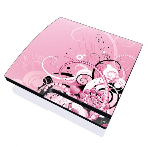 Her Abstraction PlayStation 3 Slim Skin