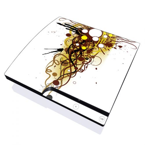Mardi Gras PlayStation 3 Slim Skin