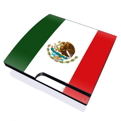 Mexican Flag PlayStation 3 Slim Skin