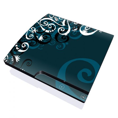 Midnight Garden PlayStation 3 Slim Skin