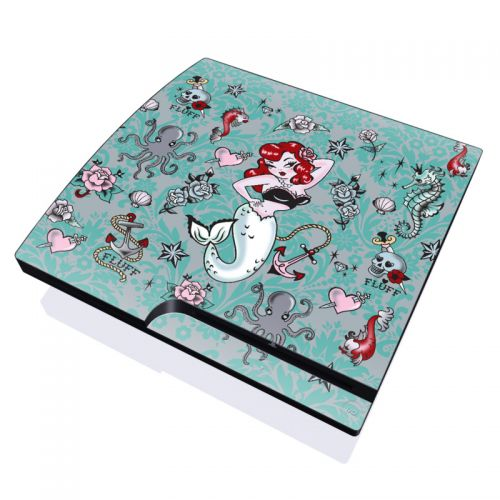Molly Mermaid PlayStation 3 Slim Skin