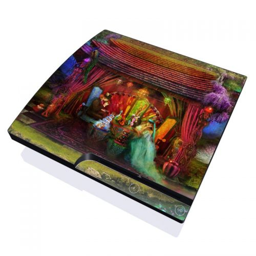 A Mad Tea Party PlayStation 3 Slim Skin