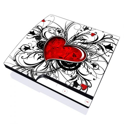 My Heart PlayStation 3 Slim Skin
