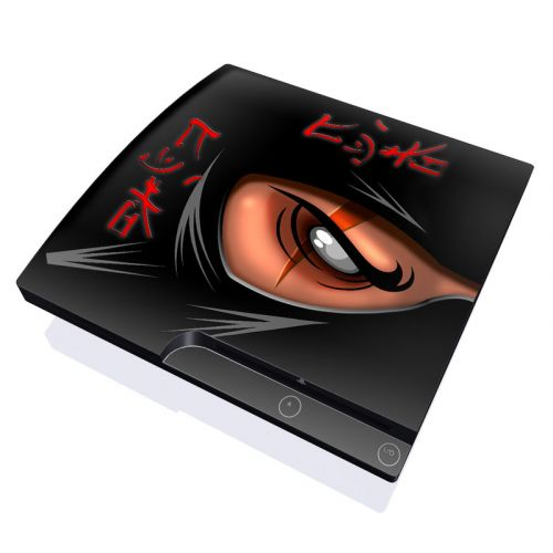 Ninja PlayStation 3 Slim Skin