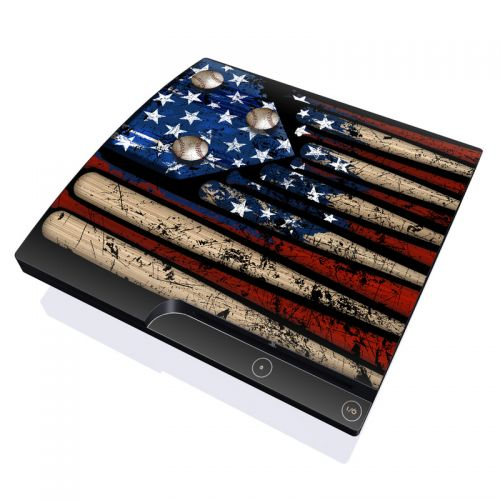Old Glory PlayStation 3 Slim Skin