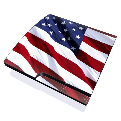 Patriotic PlayStation 3 Slim Skin