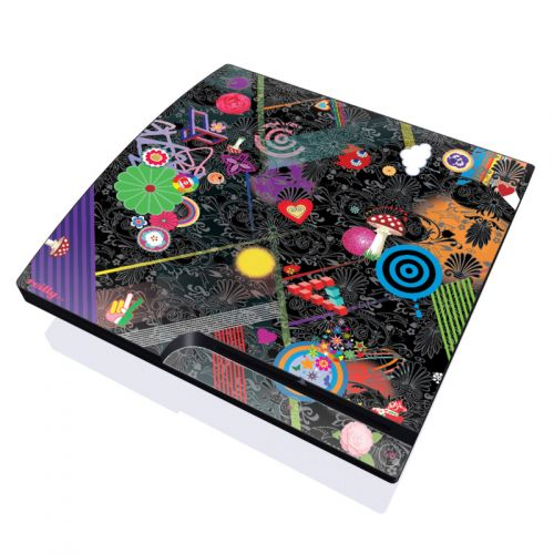 Play Time PlayStation 3 Slim Skin