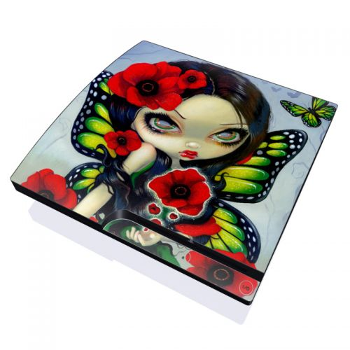Poppy Magic PlayStation 3 Slim Skin