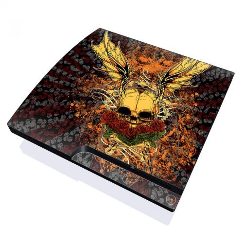 Radiant Skull PlayStation 3 Slim Skin