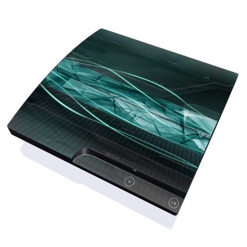 Shattered PlayStation 3 Slim Skin