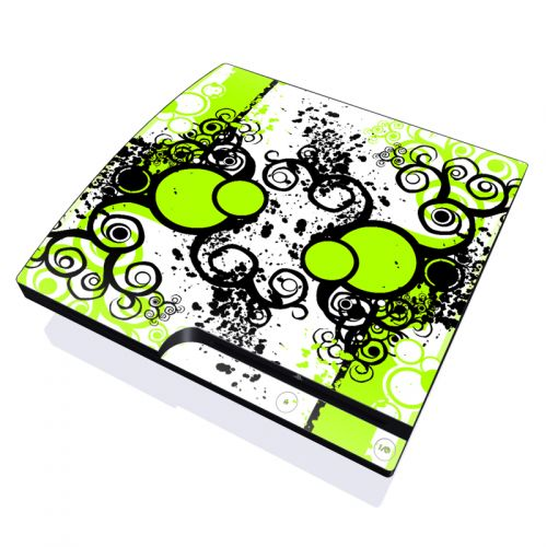 Simply Green PlayStation 3 Slim Skin