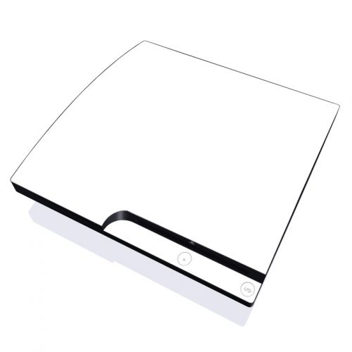 Solid State White PlayStation 3 Slim Skin