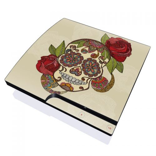 Sugar Skull PlayStation 3 Slim Skin