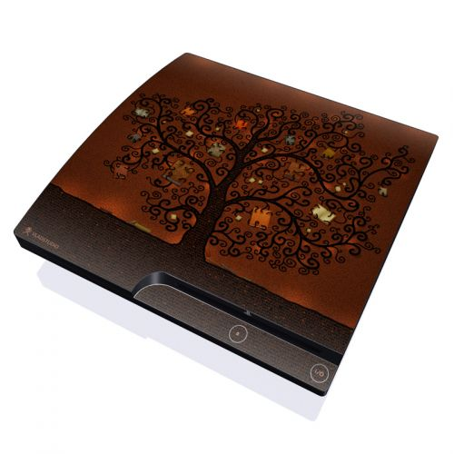 Tree Of Books PlayStation 3 Slim Skin