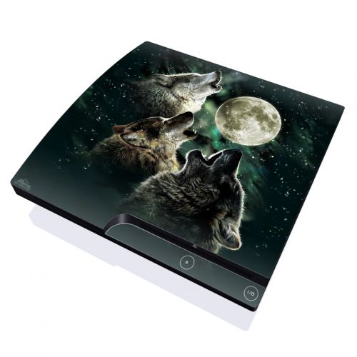 Three Wolf Moon PlayStation 3 Slim Skin