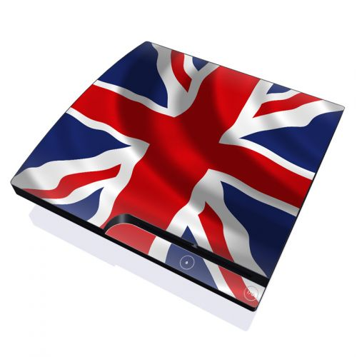 Union Jack PlayStation 3 Slim Skin