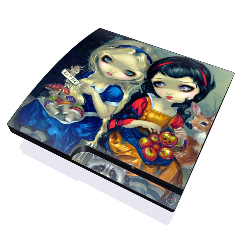 Alice & Snow White PlayStation 3 Slim Skin