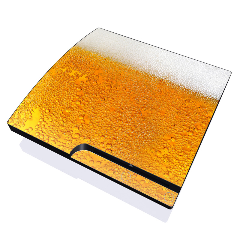 Beer Bubbles PlayStation 3 Slim Skin
