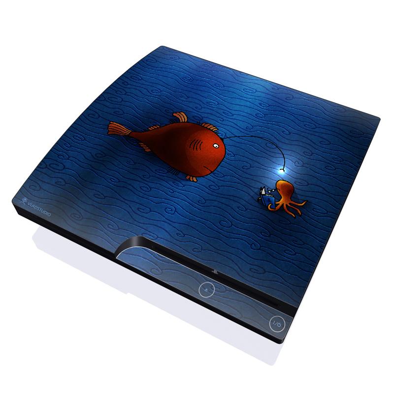 Angler Fish PlayStation 3 Slim Skin