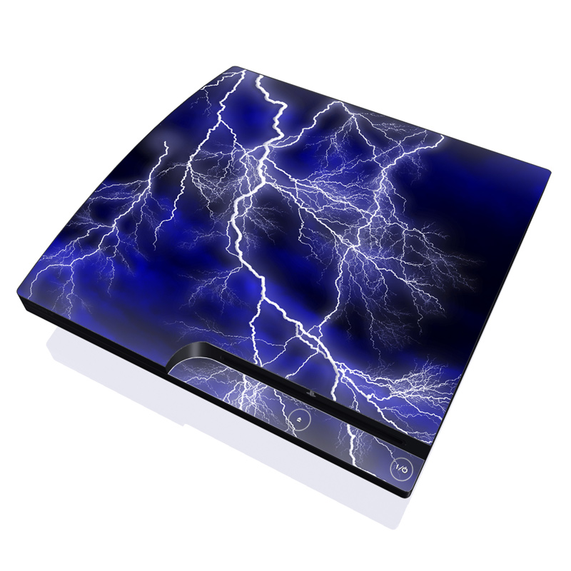 Apocalypse Blue PlayStation 3 Slim Skin