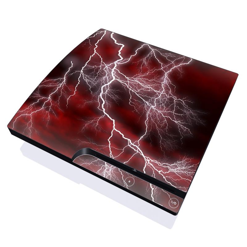Apocalypse Red PlayStation 3 Slim Skin
