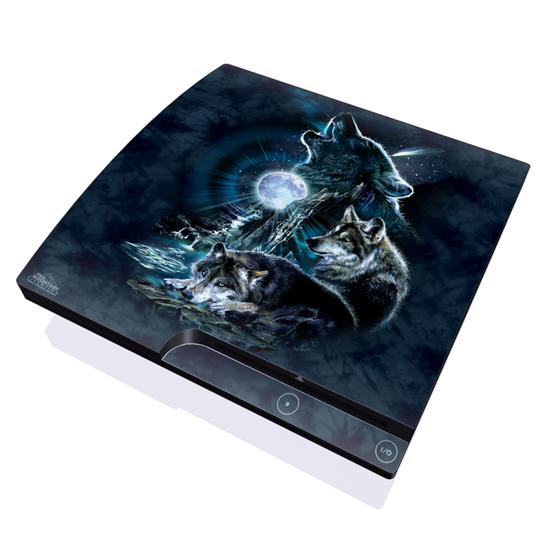 Bark At The Moon PlayStation 3 Slim Skin