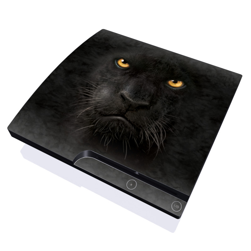 Black Panther PlayStation 3 Slim Skin