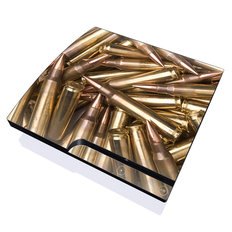 Bullets PlayStation 3 Slim Skin