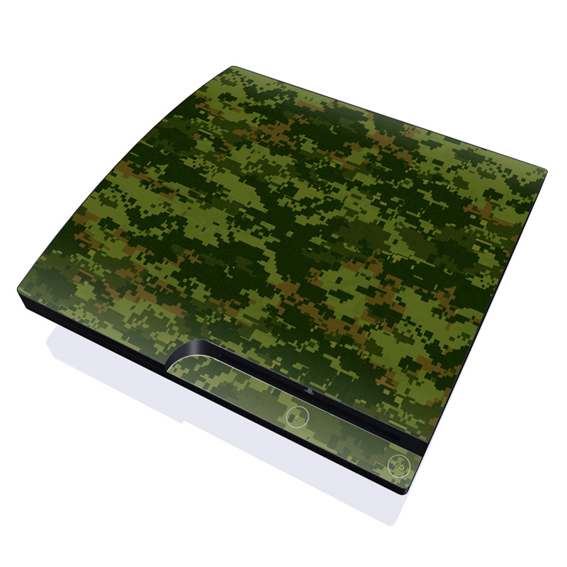 CAD Camo PlayStation 3 Slim Skin