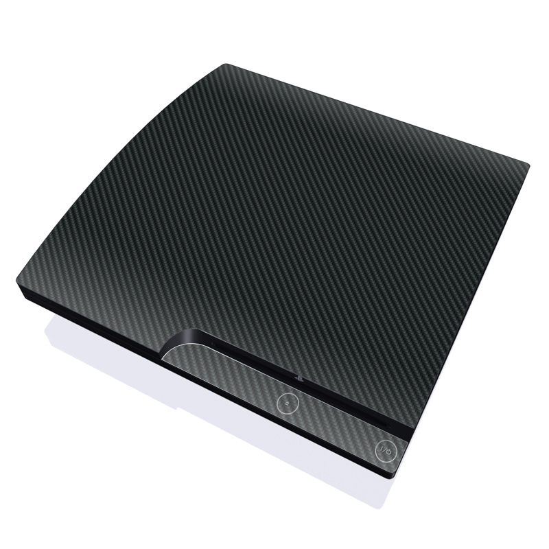 Carbon PlayStation 3 Slim Skin