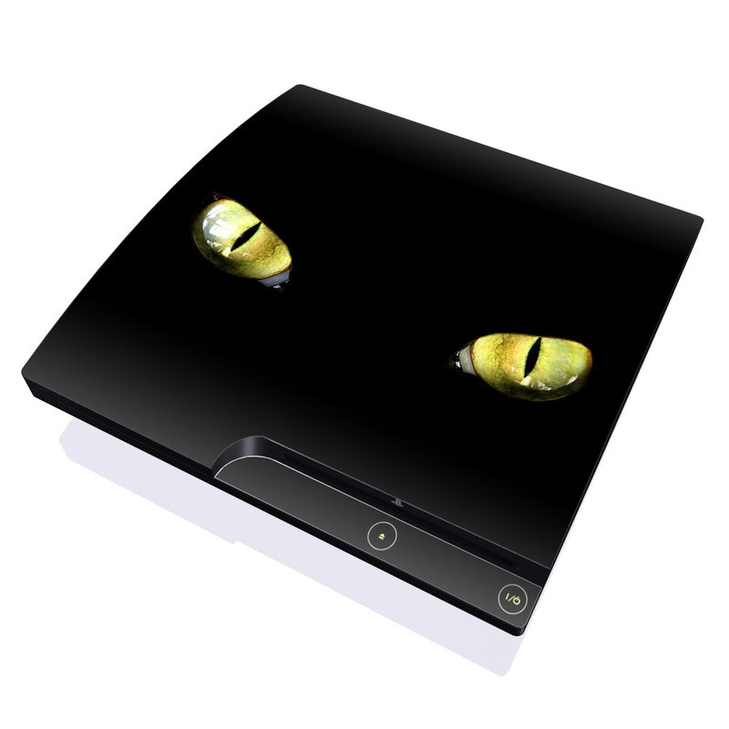 Cat Eyes PlayStation 3 Slim Skin