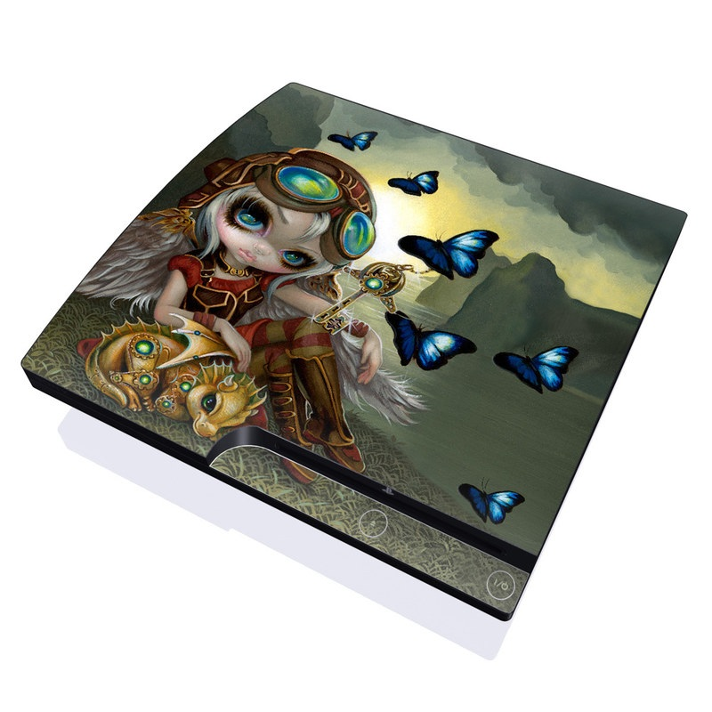 Clockwork Dragonling PlayStation 3 Slim Skin