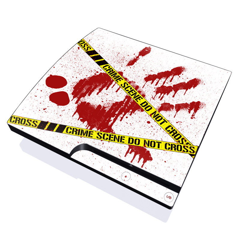 Crime Scene Revisited PlayStation 3 Slim Skin