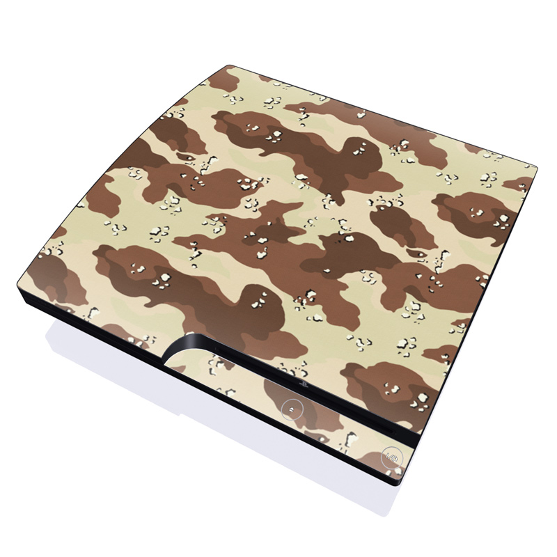 Desert Camo PlayStation 3 Slim Skin