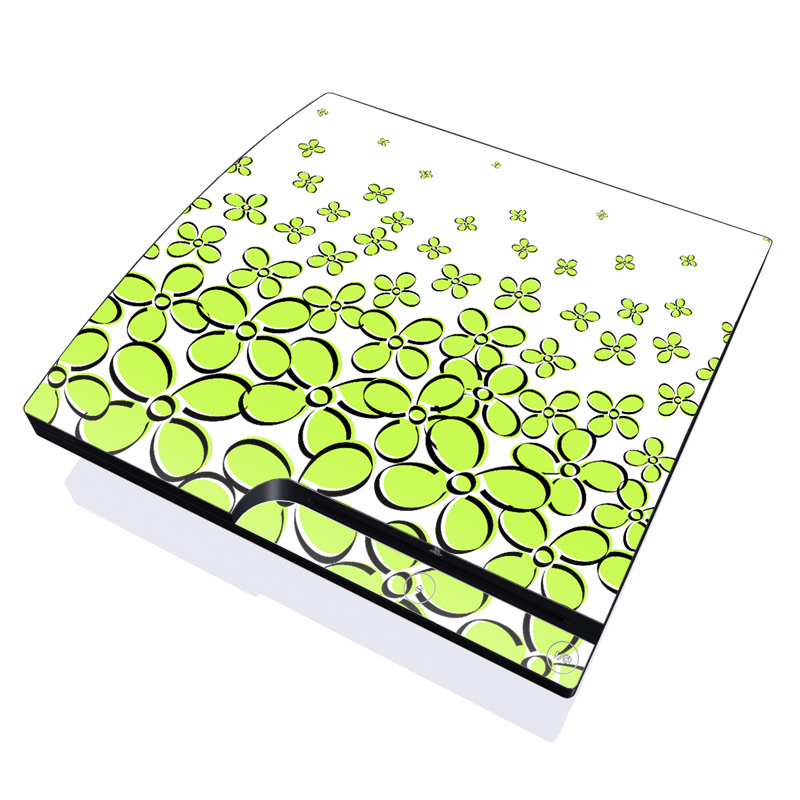 Green PlayStation 3 Slim Skin