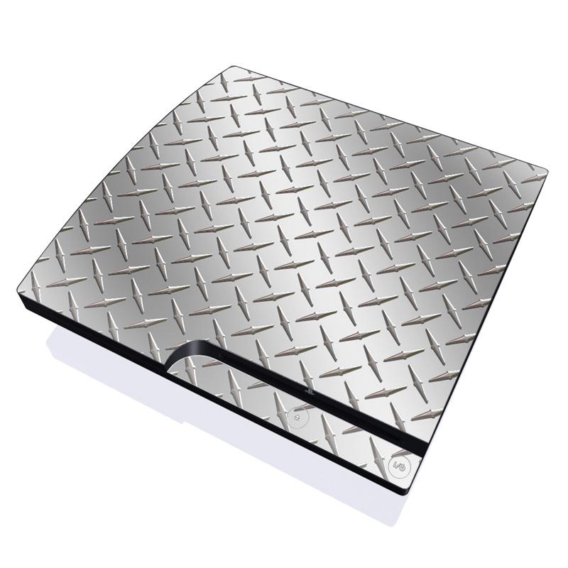 Diamond Plate PlayStation 3 Slim Skin
