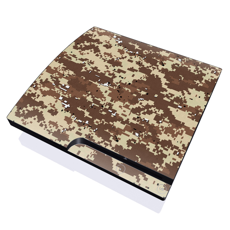 Digital Desert Camo PlayStation 3 Slim Skin