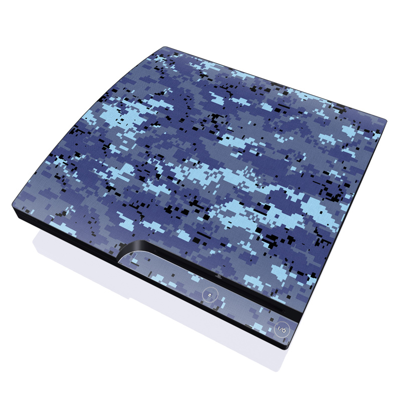 Digital Sky Camo PlayStation 3 Slim Skin