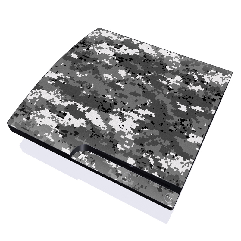 Digital Urban Camo PlayStation 3 Slim Skin