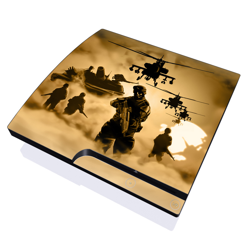 Desert Ops PlayStation 3 Slim Skin