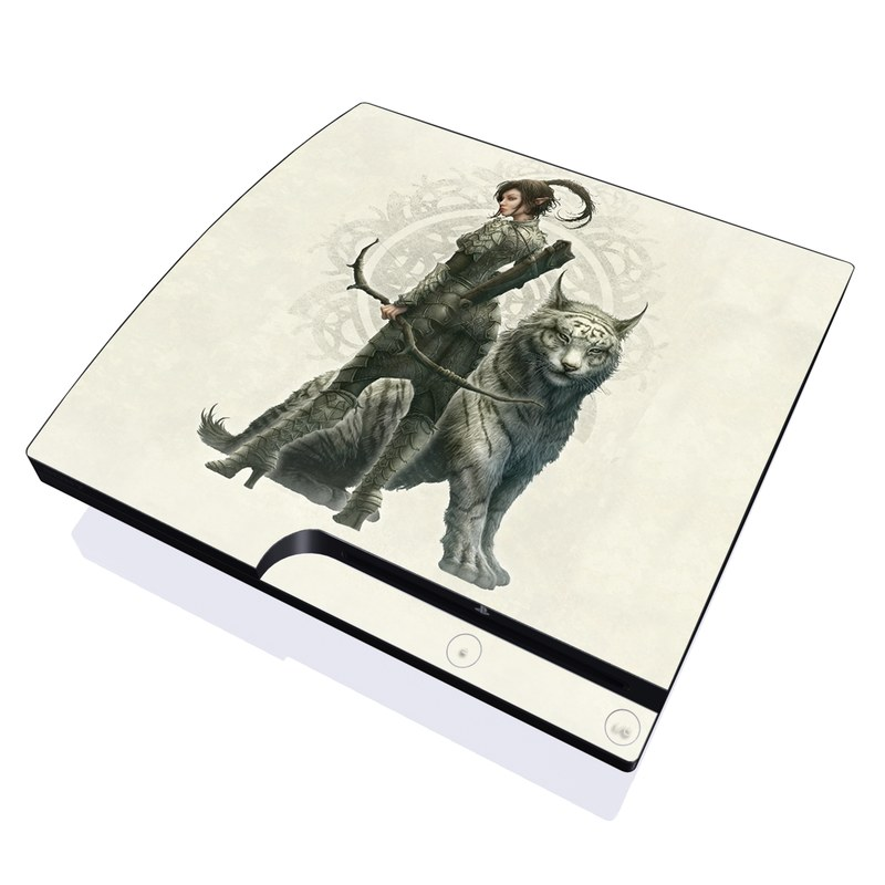 Half Elf Girl PlayStation 3 Slim Skin